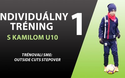 "Individuálny tréning U10 ""Outside Cuts Stepover"""